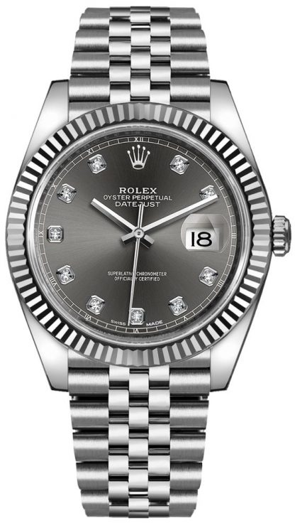 replique Montre Automatique Rolex Datejust 41 pour homme 126334