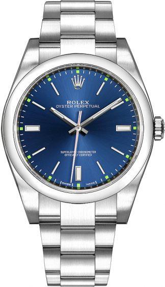 replique Montre Automatique Rolex Oyster Perpetual 39 pour Homme 114300