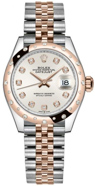replique Montre Femme Rolex Datejust 31 Cadran Argent Diamants 278341RBR