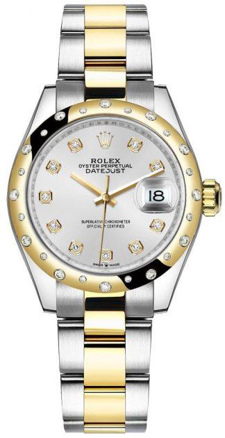 replique Montre Femme Rolex Datejust 31 Cadran Argent Oyster Bracelet 278343RBR