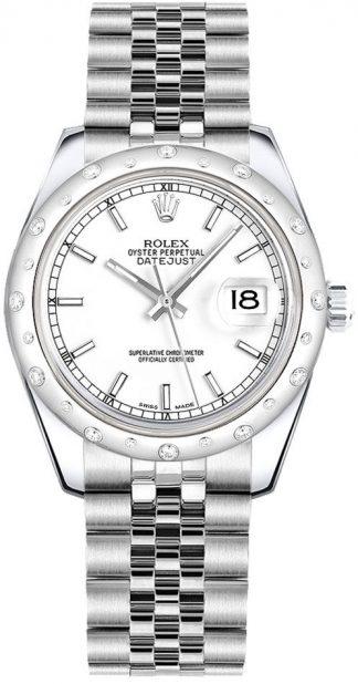 replique Montre Femme Rolex Datejust 31 Cadran Blanc Jubilee Bracelet 178344