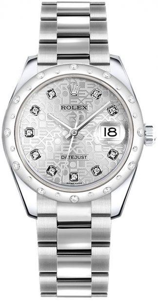 replique Montre Femme Rolex Datejust 31 Cadran Jubilé Argent 178344