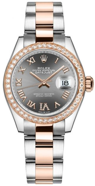 replique Montre Femme Rolex Datejust 31 Cadran Rhodium Diamant VI 278381RBR