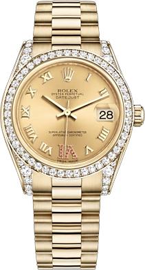 replique Montre Femme Rolex Datejust 31 Diamond Automatic 178158
