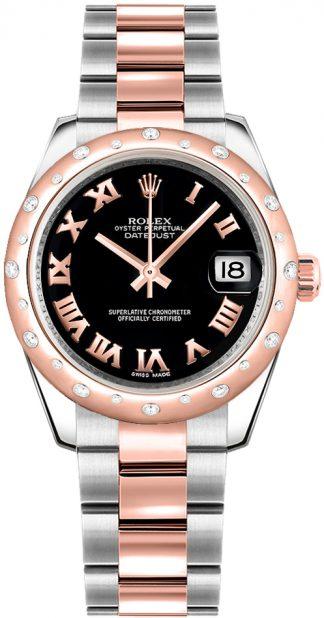 replique Montre Femme Rolex Datejust 31 Diamond Bezel 178341