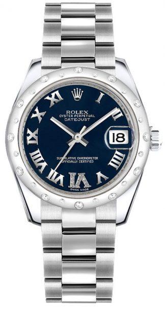 replique Montre Femme Rolex Datejust 31 Diamond Bezel 178344