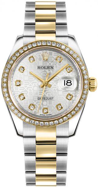 replique Montre Femme Rolex Datejust 31 Diamond Bezel 178383