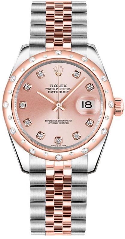 replique Montre Femme Rolex Datejust 31 Jubilee Bracelet 178341