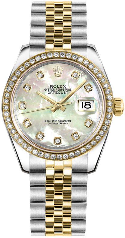 replique Montre Femme Rolex Datejust 31 Nacre Diamant 178383