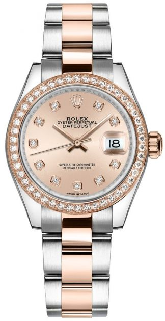 replique Montre Femme Rolex Datejust 31 Rose Diamonds 278381RBR