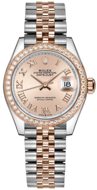 replique Montre Femme Rolex Datejust 31 Rose Jubilee Bracelet 278381RBR