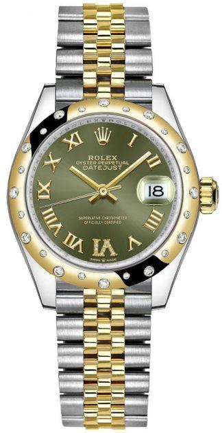replique Montre Femme Rolex Datejust 31 Two Jone Jubilee Bracelet 278343RBR