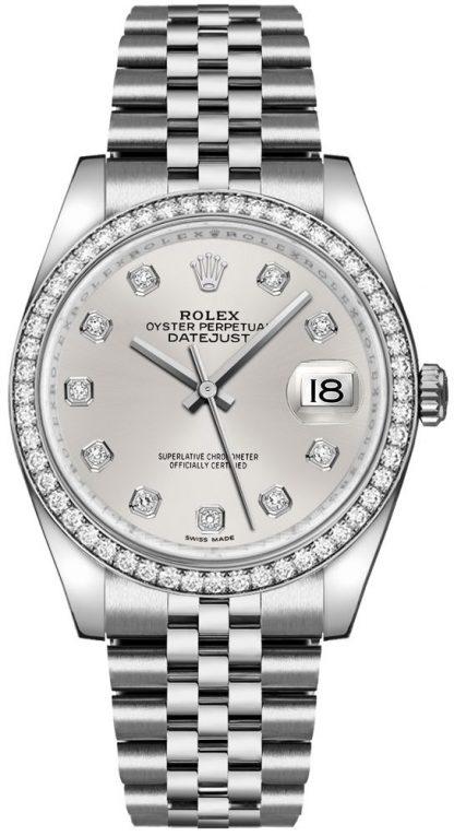replique Montre Femme Rolex Datejust 36 Argent 116244