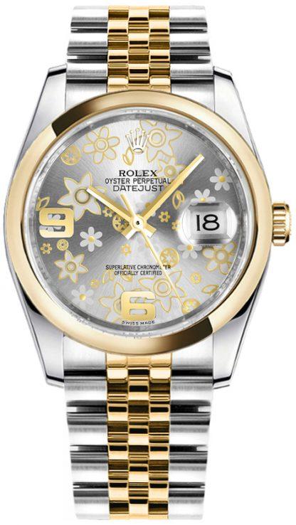 replique Montre Femme Rolex Datejust 36 Cadran Argent 116203