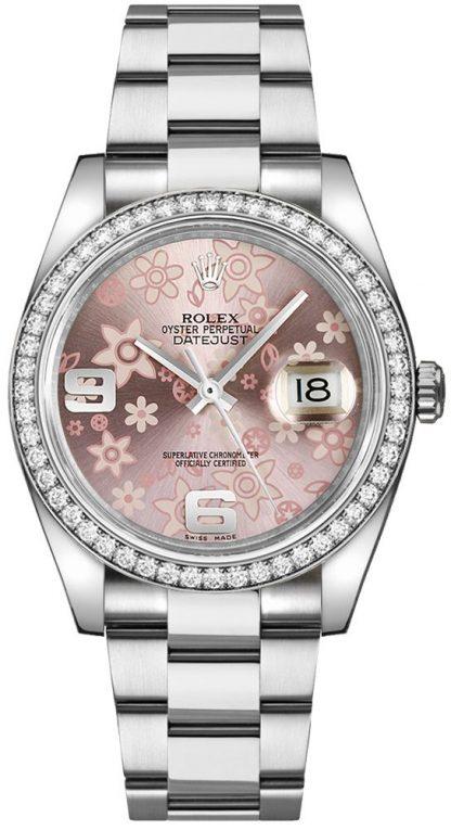 replique Montre Femme Rolex Datejust 36 Cadran Rose 116244