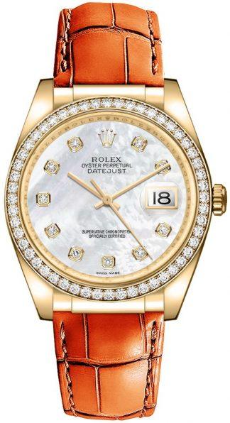 replique Montre Femme Rolex Datejust 36 Diamond 116188