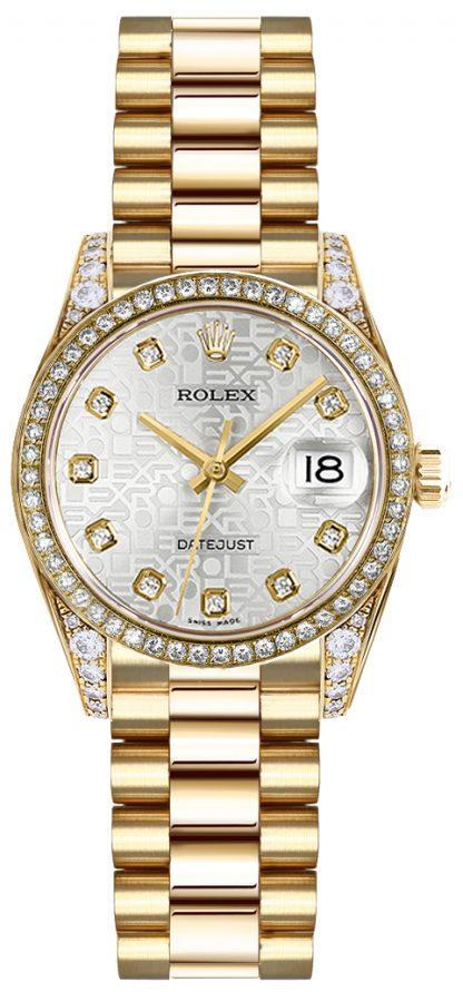 replique Montre Femme Rolex Lady-Datejust 26 Luxury 179158