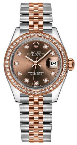 replique Montre Femme Rolex Lady-Datejust 28 279381RBR