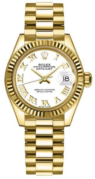 replique Montre Femme Rolex Lady-Datejust 28 President Bracelet 279178