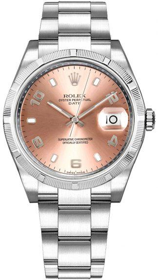 replique Montre Femme Rolex Oyster Perpetual Date 34 Rose 115210