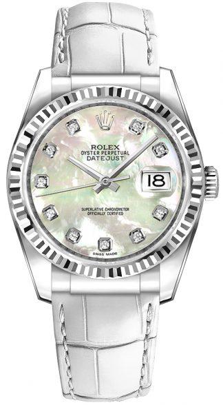 replique Montre Homme Rolex Datejust 36 Cadran Nacre 116139