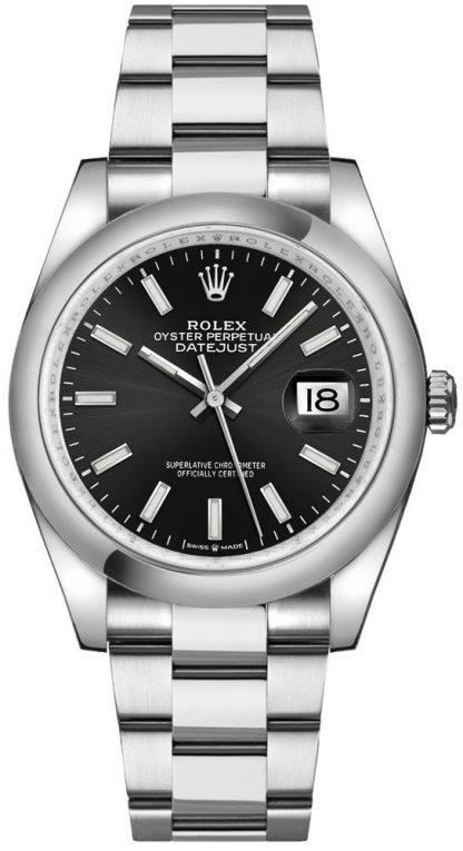 replique Montre Homme Rolex Datejust 36 Cadran Noir Oystersteel 126200