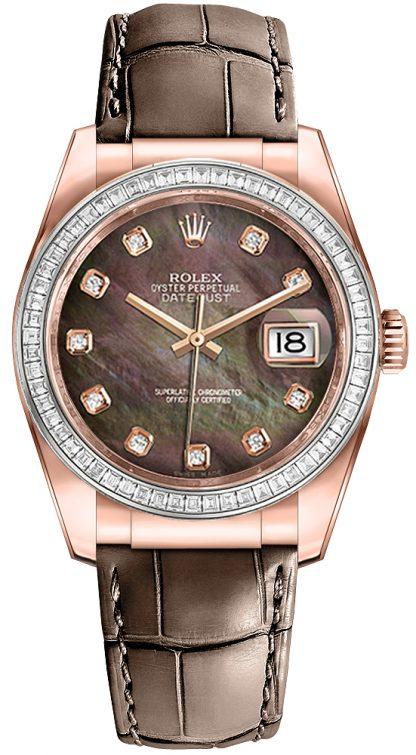 replique Montre Homme Rolex Datejust 36 Diamond Bezel 116185