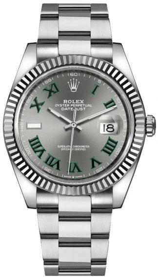 replique Montre Homme Rolex Datejust 41 Cadran Gris 126334
