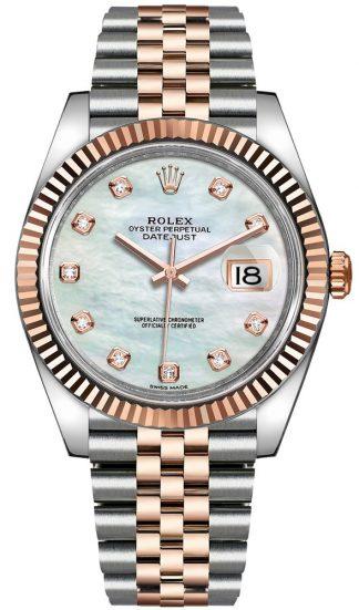 replique Montre Homme Rolex Datejust 41 Cadran Nacre 126331