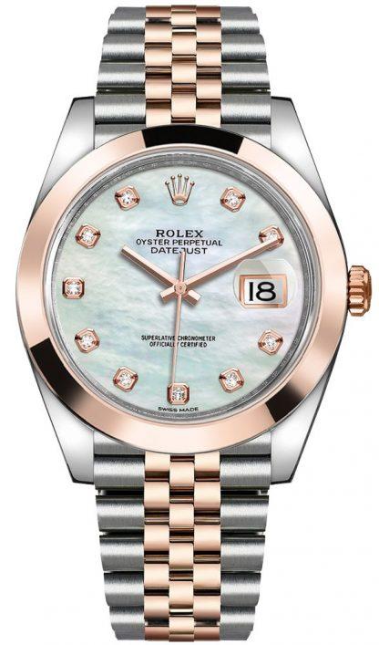 replique Montre Homme Rolex Datejust 41 cadran nacre cadran jubilé 126301