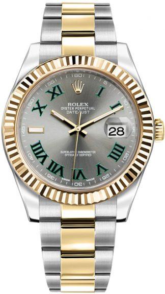 replique Montre Homme Rolex Datejust II 41 Automatique Or et Acier 116333