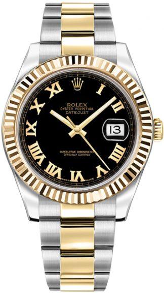 replique Montre Homme Rolex Datejust II 41 Or et Acier 116333