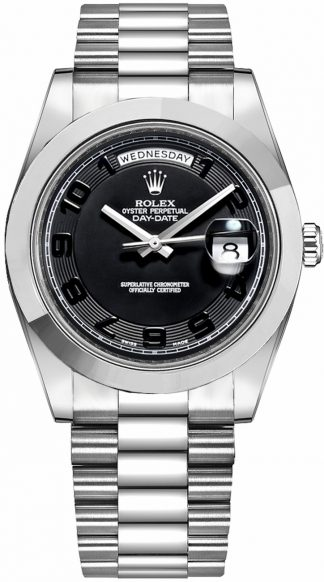 replique Montre Homme Rolex Day-Date 41 Platine 218206
