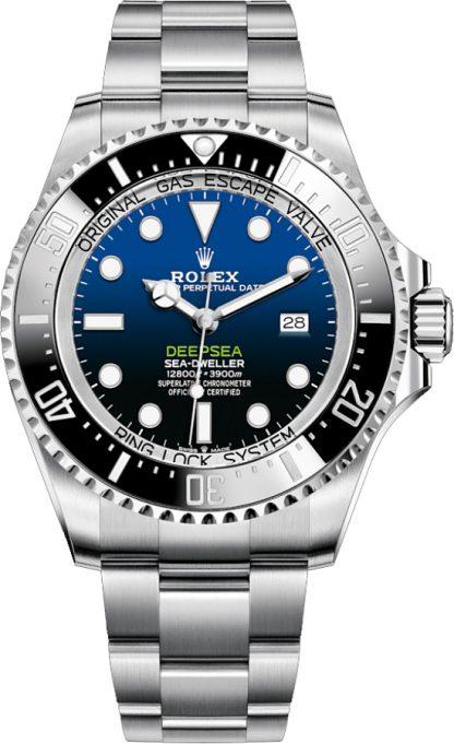 replique Montre Homme Rolex Deepsea D-Blue Dial 44mm 126660