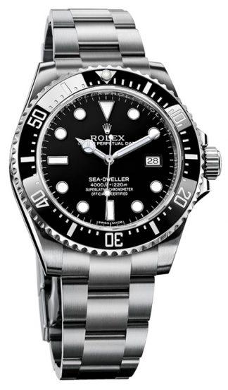 replique Montre Homme Rolex Sea-Dweller 4000 Cadran Noir 116600