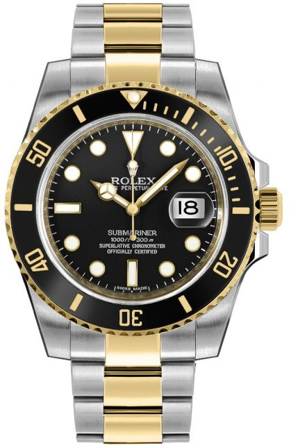 replique Montre Homme Rolex Submariner Date 116613LN