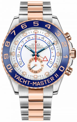 replique Montre Homme Rolex Yacht-Master II Oystersteel & Everose Gold 44mm 116681