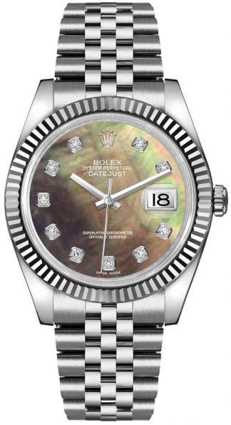 replique Montre Perle Rolex Datejust 36 pour femme 116234