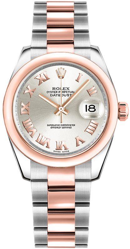 replique Montre Rolex Datejust 31 Two Tone pour femme 178241