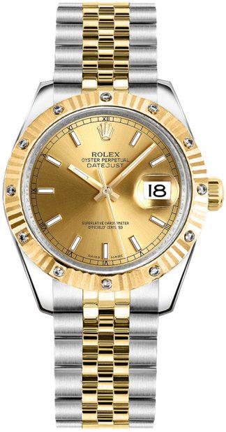 replique Montre Rolex Datejust 31 Two Tone pour femme 178313