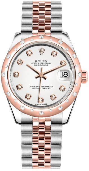 replique Montre Rolex Datejust 31 Two Tone pour femme 178341
