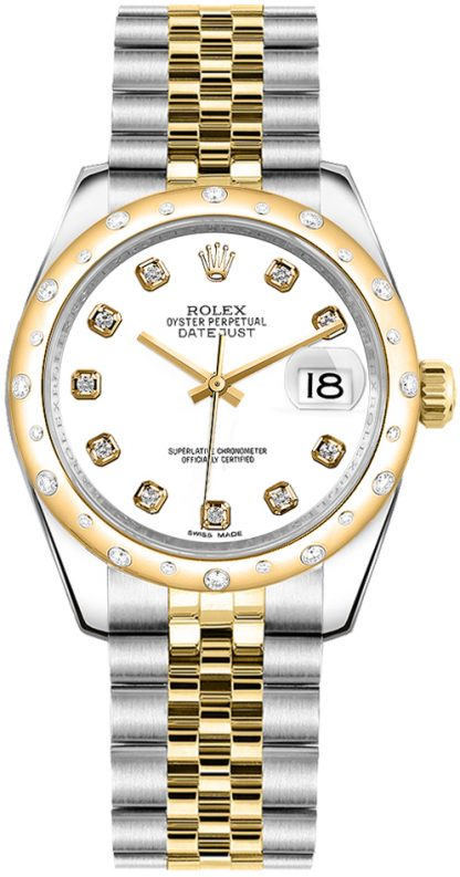 replique Montre Rolex Datejust 31 cadran blanc 178343