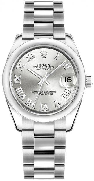 replique Montre Rolex Datejust 31 en acier inoxydable 178240