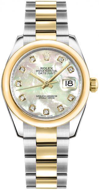 replique Montre Rolex Datejust 31 en nacre 178243
