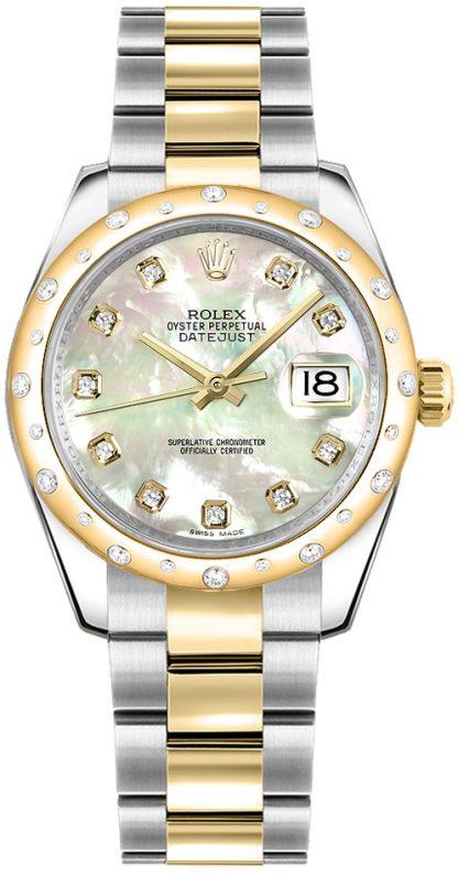 replique Montre Rolex Datejust 31 en nacre et diamant 178343