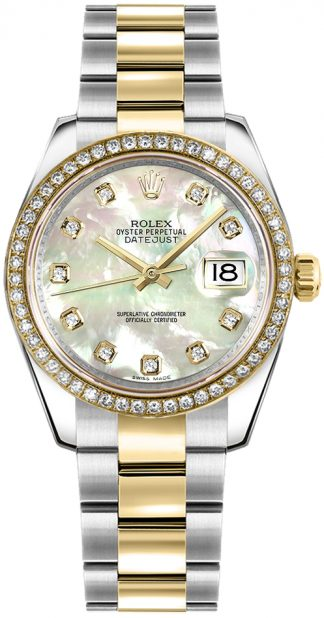 replique Montre Rolex Datejust 31 nacre diamant 178383