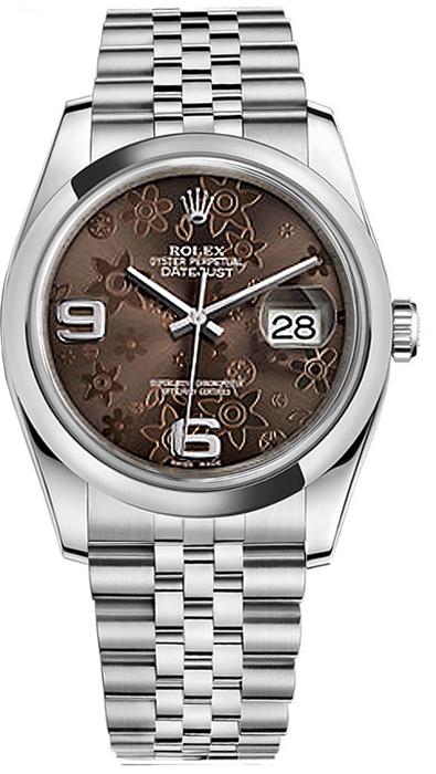 replique Montre Rolex Datejust 36 à cadran en bronze 116200
