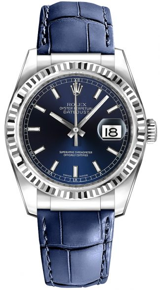 replique Montre Rolex Datejust 36 Blue 116139