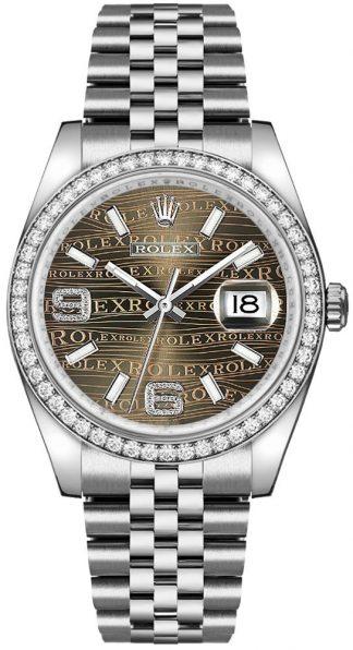 replique Montre Rolex Datejust 36 Diamond 116244