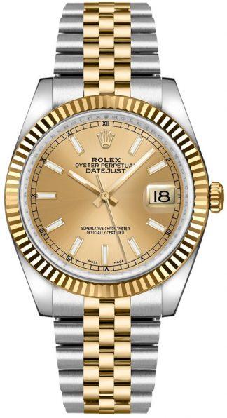 replique Montre Rolex Datejust 36 Jubilee Bracelet Acier et Or 116233